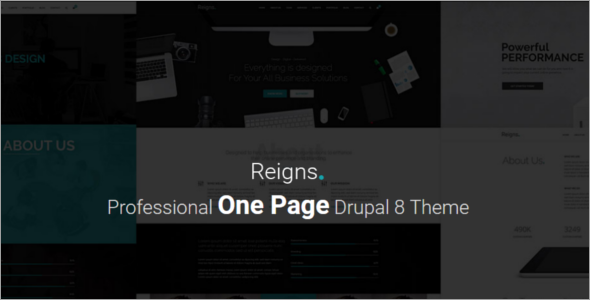 Best Professional Drupal Theme