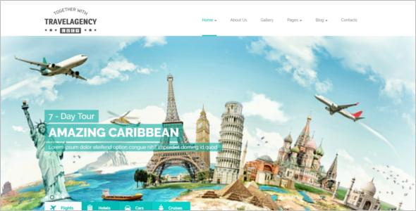 Best Tourism Website Template