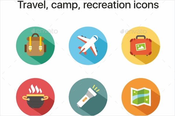 Best Travel Icons Vector