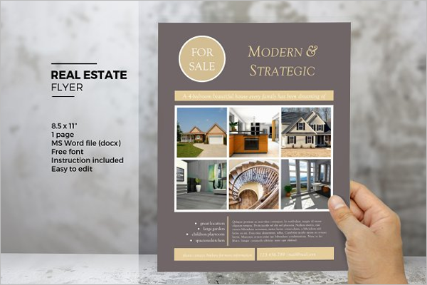 Flyer Templates Word Free Printable Templates - Microsoft office real estate flyer templates