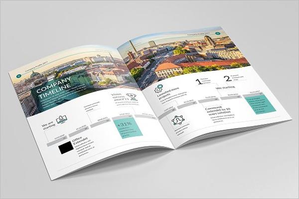 Bi-Fold Corporate Brochure Template