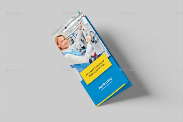 Bi-FoldLaundry Brochure Template