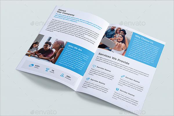 20 printable office brochure templates free designs for Bi fold brochure word template free