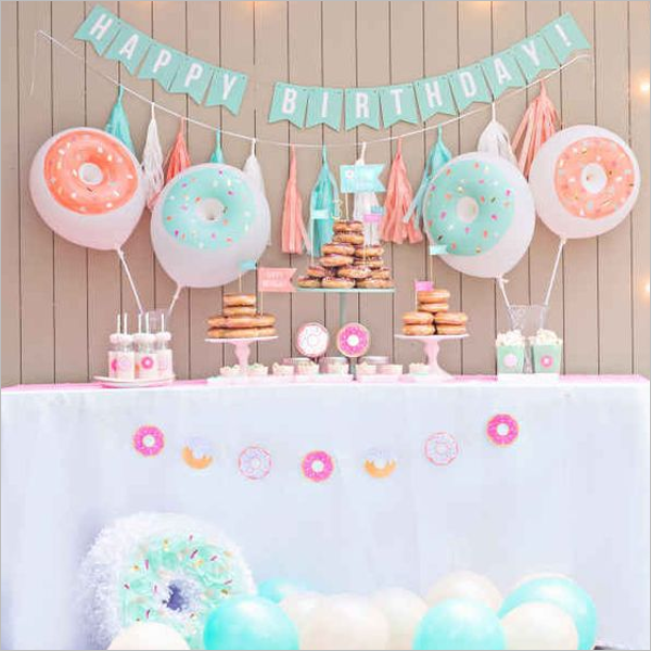 Birthday Party Event Theme