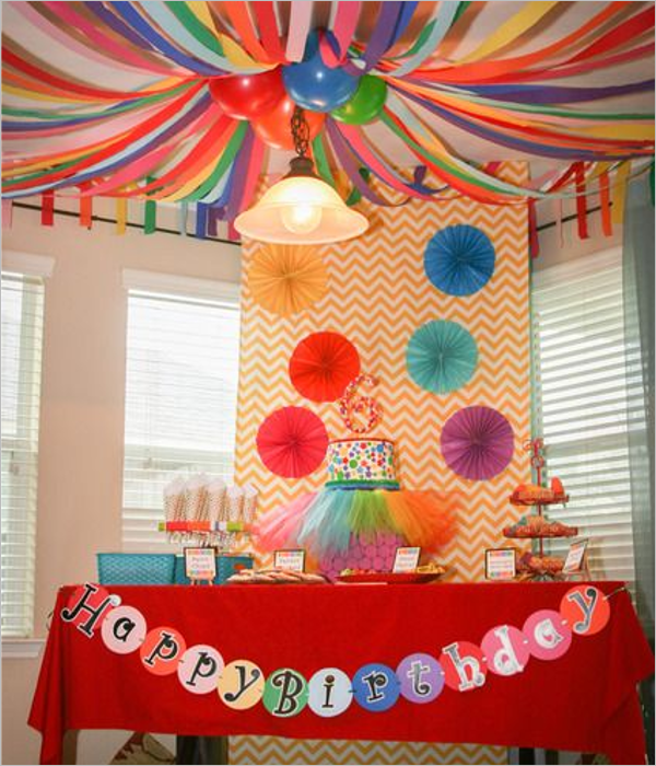 24+ Free Birthday Party Themes Sample Decoration Ideas