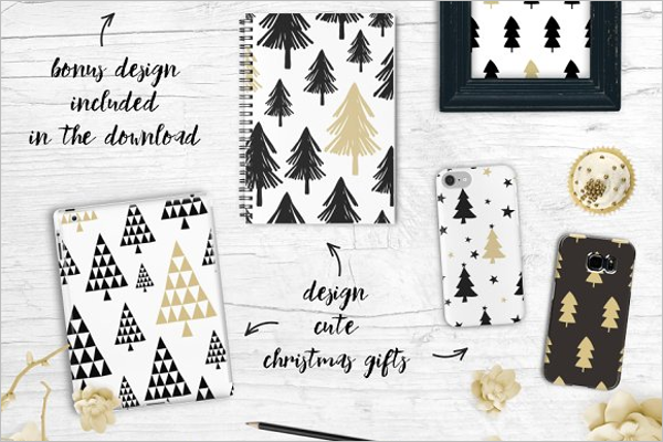 Black & Brown Christmas Tree Idea