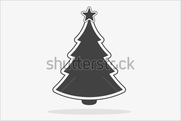 Black Christmas Tree Example
