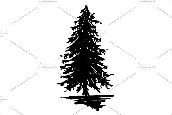 Black Christmas Tree Idea