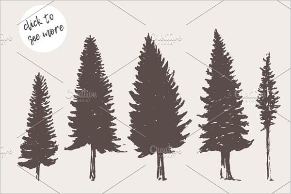 Black Christmas Tree Set