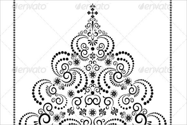 Black Xmas Tree Idea