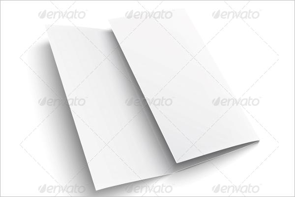 Blank Brochure Template PSD
