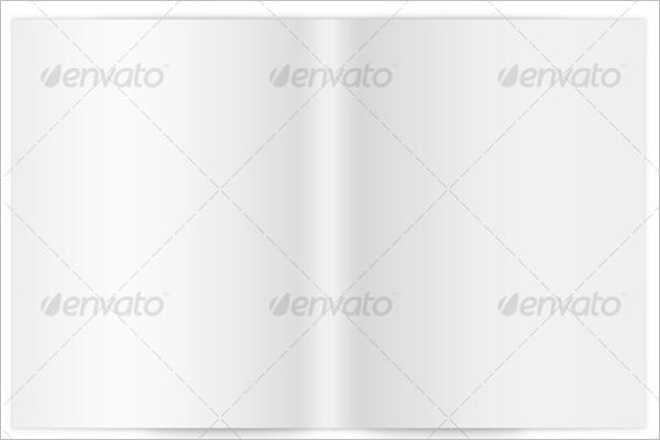 Blank Brochure Template Photoshop