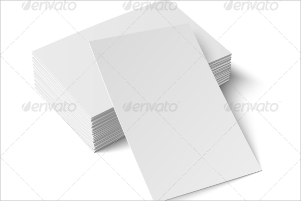Blank Business Card India