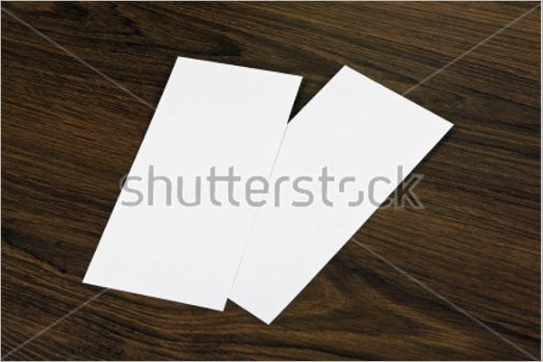Blank Club Flyer Design