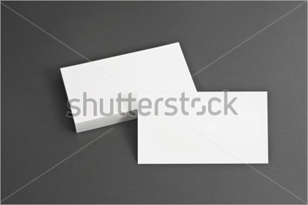 Blank Corporate Business Card