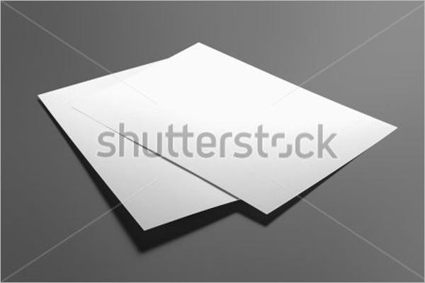Blank Flyer Template Word