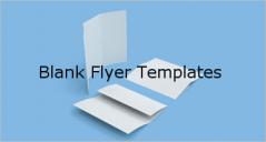 15+ Printable Blank Flyer Templates