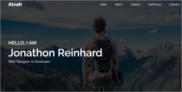 Blog Personal Template