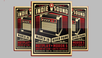 Band Poster Templates