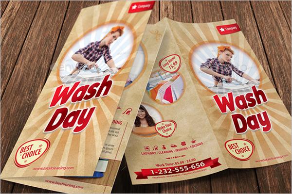 Brochure Laundry Service