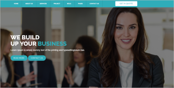 Business Consulting HTML Template
