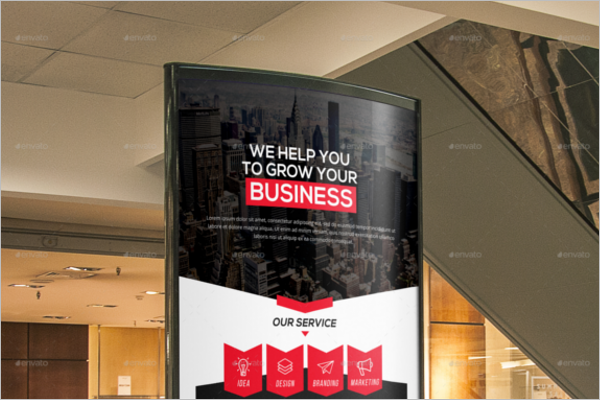 Business Plan Poster Template