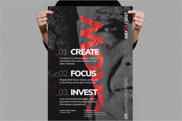 Business Poster Design Idea