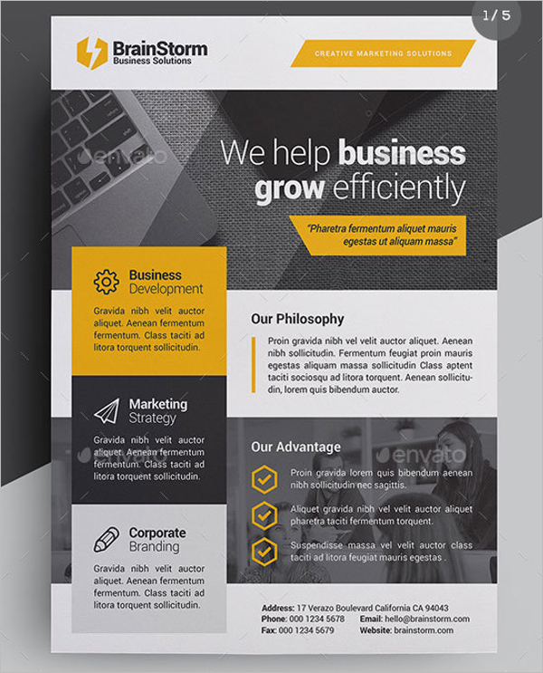 Business Poster Example