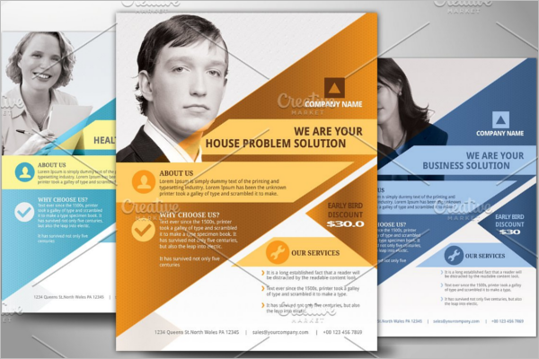 Business Poster Template PSD