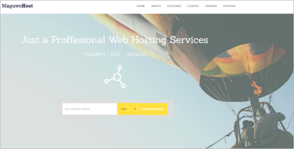 Business jQuery Website Template