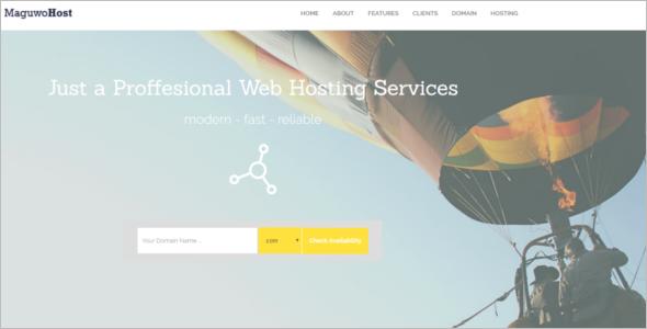 Business jQuery Website Template