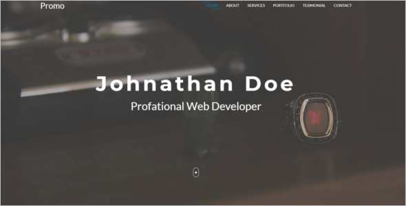 Business Portfolio Website Template