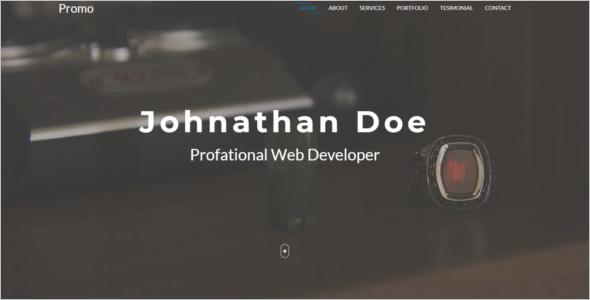 Business Portfolio Website Template