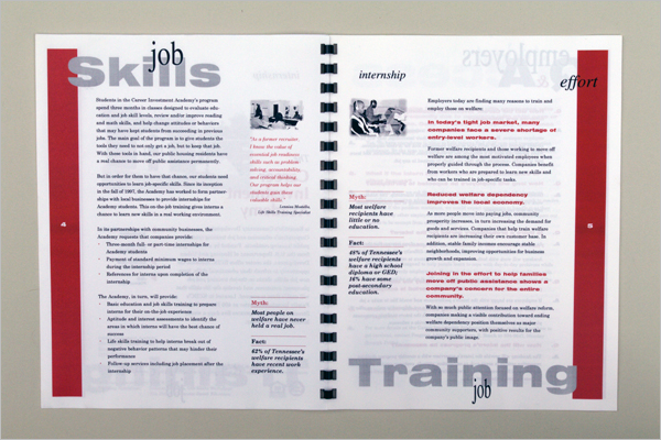 Career Brochure PDF Design