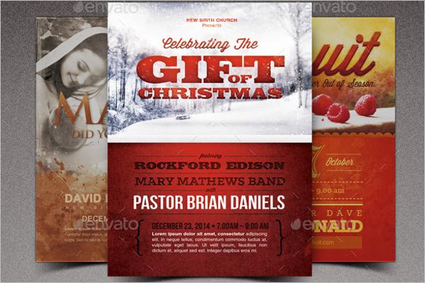 Celebrate Church Marketing Flyer
