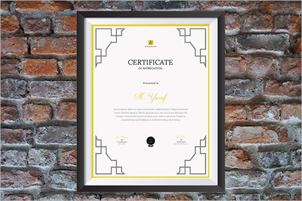 25+ Sample Academic Certificate Templates Free Word Formats