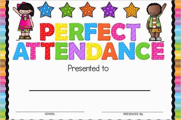 Certificate of Attendance Design