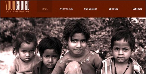 Charity Organisation Drupal Theme
