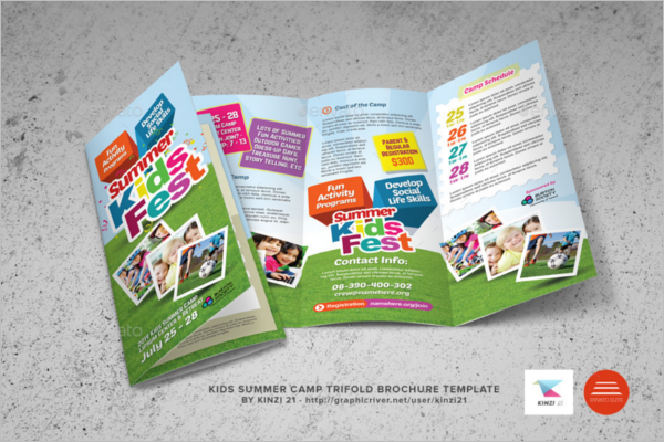 Childrens Brochure Template