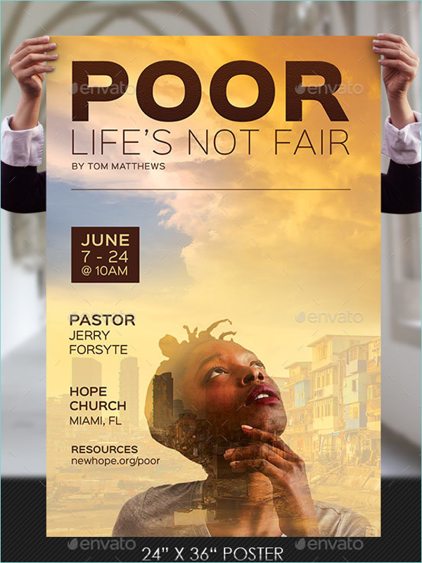 Christian Poster Template