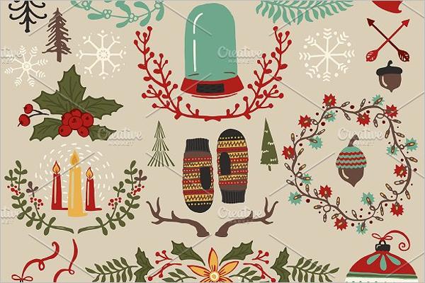 Christmas Background Vector Design