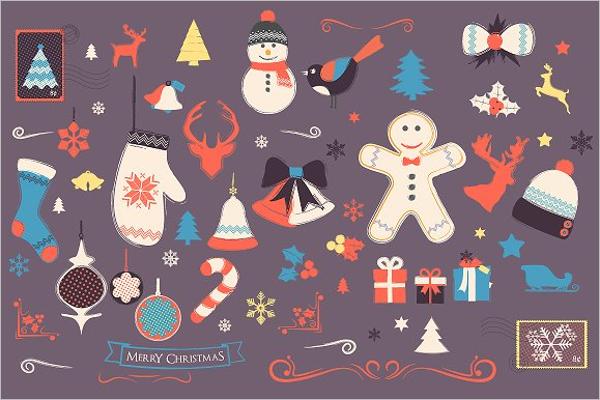 Christmas Elements Design