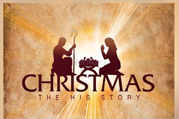 Christmas History Story Template