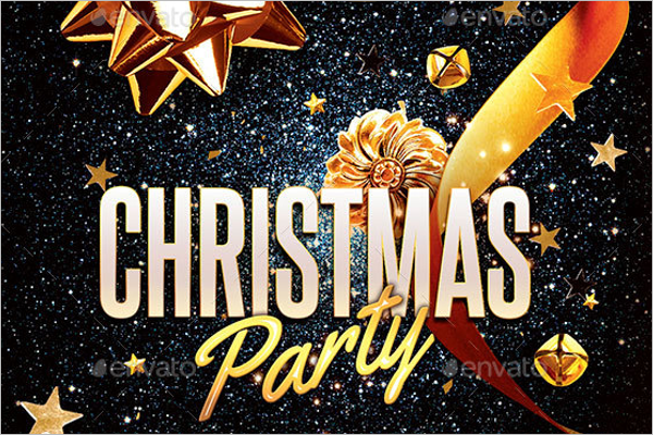 Christmas Party Background Theme