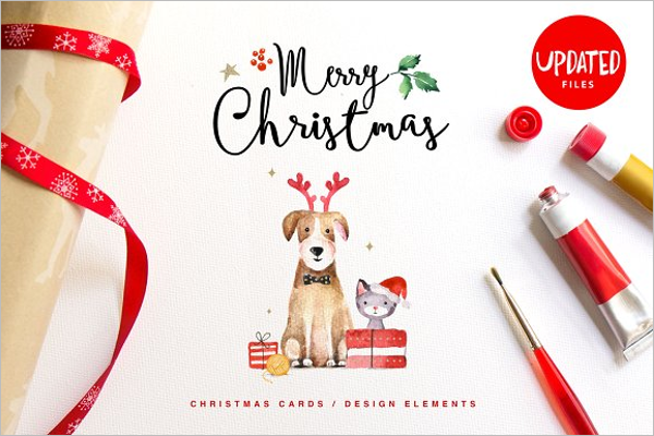 Christmas Party Card Design