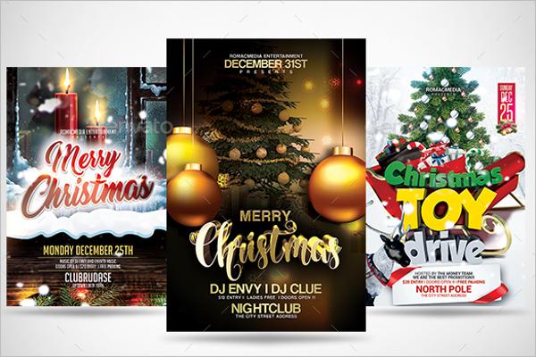 Christmas Party Flyer Bundle