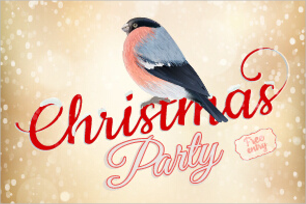 Christmas Party Free Design