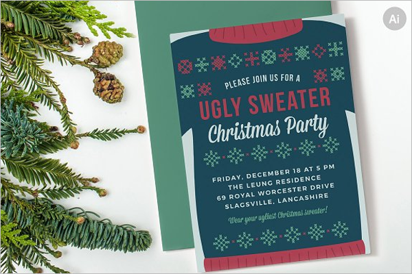 Christmas Party Invention Illustrator