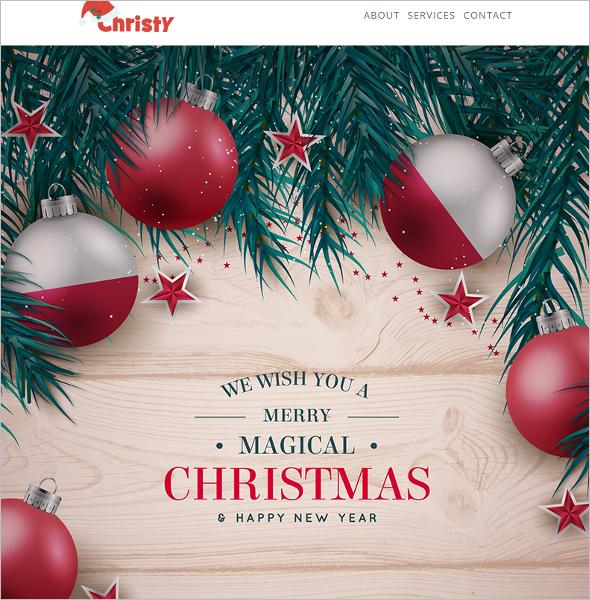 Christmas Responsive HTML Template
