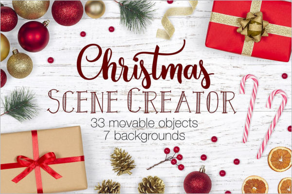 Christmas Scene Decoration Setters